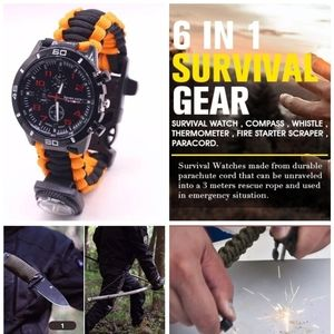 Outdoor Military Survival Sport Swimming Wrist Wat